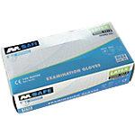 Gants M Safe Unpowdered latex taille l Transparent 100 unités