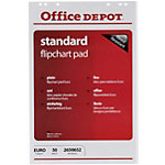 Blocs pour chevalet Office Depot Standard Page blanche 70 g