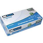 Gants M Safe Natural vinyle taille l Transparent 100 unités