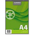 Bloc note AURORA quadrillé (5x5) A4 60 g