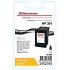 Cartouche jet d'encre Office Depot Compatible HP 301 Noir CH561EE