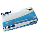 Gants M Safe Powdered latex taille m Transparent 100 unités