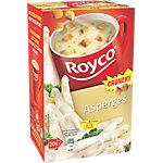 Soupes instantanées Royco Asperges aux croûtons 20 Unités de 30 g