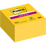 Notes repositionnables Post it 76 x 76 mm Jaune 350 Feuilles