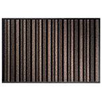 Tapis d'entrée extérieur Office Depot Polyamide Beige, noir 900 x 1.350 mm