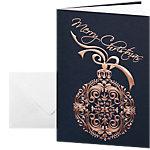 Cartes de Noël avec enveloppes Sigel Noblesse 270 g