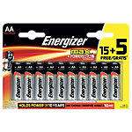 Piles Energizer Max AA 20 Unités