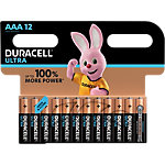Piles Duracell Ultra Power AAA 12 Unités
