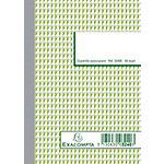 Manifold autocopiant Exacompta Blanc, vert Quadrillé 5 x 5 mm A6 105 x 148 mm 25 feuilles