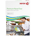 Papier Xerox NeverTear Blanc brillant 100 Feuilles