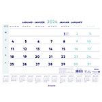 Calendrier mensuel Brepols Wire O 2021