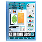 Protège documents ELBA Polyvision A4 Bleu polypropylène 240 x 315 mm