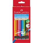 Crayons de couleur Faber Castell 116612 Assortiment 12 Unités