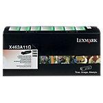 Toner X463A11G D'origine Lexmark Noir