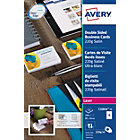 Cartes de visite Avery C32016 25 Blanc Lisse 220 g