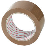 Ruban adhésif d'emballage Office Depot Heavy Duty Low Noise 50 mm x 66 m Marron 6 rouleaux