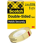Ruban adhésif double face Scotch Double Sided Transparent 12 mm x 22,8 m