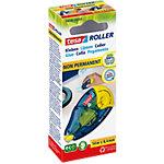 Roller de colle tesa Rechargeable et non permanent 0,84 cm