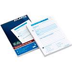 Registre de caisse entrées (NL) Jalema Atlanta A5406 033 Blanc, rose A6 10,5 x 14,8 cm 100 feuilles
