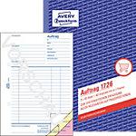 Formulaires de commande AVERY Zweckform 1726 Rose, blanc, jaune A5 21 x 0,9 x 14,9 cm 40 Feuilles