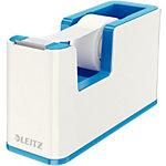 Dévidoir de ruban adhésif Leitz WOW Dual + Ruban adhésif inscriptible 19mm x 33m Blanc, bleu