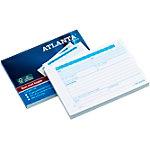 Carnet de commandes autocopiant Jalema Atlanta A5436 011 Blanc, bleu A6 10,5 x 14,8 cm 50 feuilles