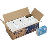 Essuie mains Kleenex Ultra 4632 2 épaisseurs Pliage en Z Blanc 16 Unités de 150 Feuilles