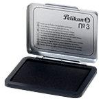 Coussin encreur Pelikan Tampons encreurs avec boîtier en métal Noir 7 x 5 cm pour