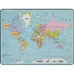 Sous main de bureau DURABLE Carte du monde Multicouleur 53 x 40 cm