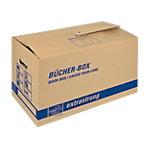 Cartons de déménagement tidyPac Spécial livres Marron 575 x 295 x 335 mm 5 unités