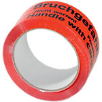 Ruban adhésif 50 mm (l) x 66 m (L) Rouge, noir