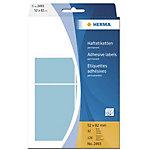 Étiquette adhésive universelle Herma 2493 52x82mm bleu