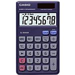 Calculatrice de poche Casio SL 300VER 8 chiffres Bleu