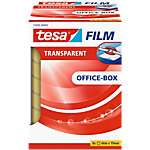 Ruban adhésif tesafilm Office Box Exempt de solvant, Invisible, Durable Polypropylène 19 mm x 66 m Transparent 8 Rouleaux