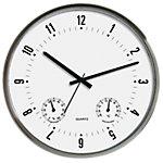 Horloge murale TechnoLine WT7980 33 x 5 cm Argenté, noir