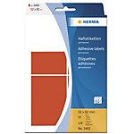 Étiquette universelle Herma 2492 52x82mm bleu