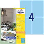 Étiquettes universelles Avery 3457 Bleu 105 x 148 mm 400 Unités