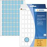 Étiquette universelle Herma 2343 12x18mm bleu