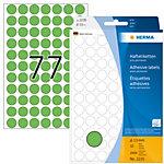 Étiquette universelle Herma 2235 13mm vert