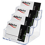 Porte cartes de visite Deflecto 70841 Transparent 50