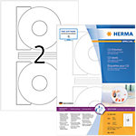Étiquettes CD HERMA SuperPrint Blanc Ø 116 mm 200 Unités