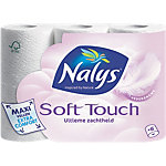 Papier toilette Nalys Soft Touch Maxi 2 épaisseurs 6 Rouleaux de 135 Feuilles