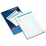 Bloc de comptes Jalema Atlanta A5414 013 Bleu A4 21 x 29,7 cm