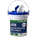 Lingettes nettoyantes pour les mains Tork W14 Viscose, Polyester, Doublure Blanc 58 Unités