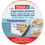 Ruban adhésif double face tesa 10 m Transparent