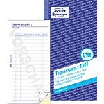 Formulaires de rapport quotidiens AVERY Zweckform 1301 Blanc, jaune 105 x 200 mm 10,5 x 20 cm 50 Feuilles