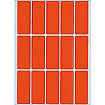 Étiquettes HERMA 2412 Rouge 20 x 50 mm 480 Unités