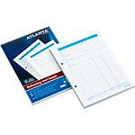 Bloc de factures Jalema Atlanta Blanc, bleu A5 14,8 x 21 cm 2 unités de 50 feuilles