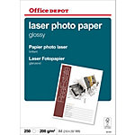 Papier Office Depot Blanc Brillant 200 g