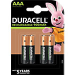 Batteries Duracell Recharge Ultra AAA 4 unités